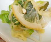 ズッキーニとキャベツのレモンマリネ