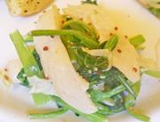 小カブと青菜の粒マスタード和え