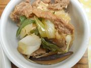 和歌山産ポークの肉豆腐