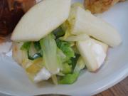 白菜とリンゴのヨーグルト和え