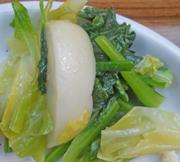 菜の花のかぶのアーリオオーリオ