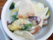 紀州鶏と冬野菜のクリームシチュー